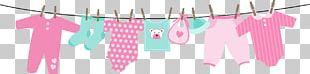 Clothes Line Infant Baby Shower Child PNG