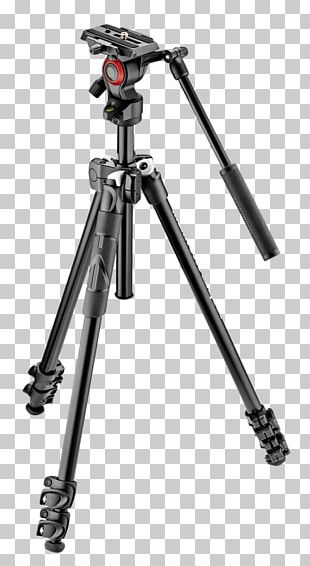 Manfrotto Tripod Photography Camera Tilt PNG