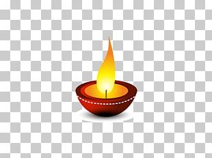 Light Diwali Diya PNG