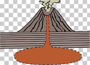 Volcano Diagram PNG