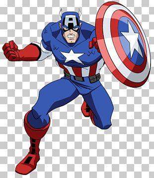 Captain America Comic PNG