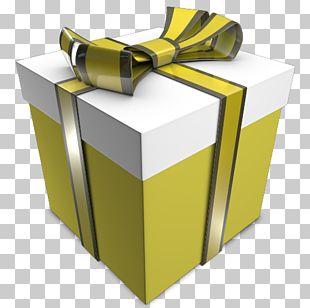 Angle Gift Yellow PNG