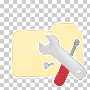 Thumb Material Yellow Hand PNG