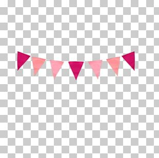 Paper Bunting Party Garland Birthday PNG
