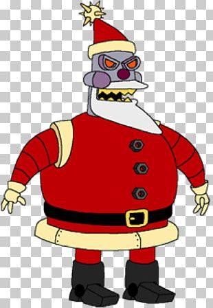 Bender Santa Claus Futurama: Worlds Of Tomorrow Zoidberg Xmas Story PNG