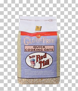 Bob's Red Mill Rolled Oats Gluten-free Diet Whole Grain PNG