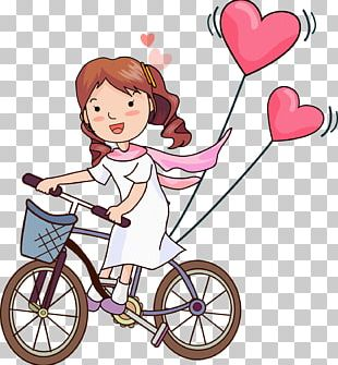 Drawing Love Couple PNG