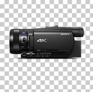 Sony Handycam FDR-AX100 Sony FDR-AX700 4K Camcorder Video Cameras PNG