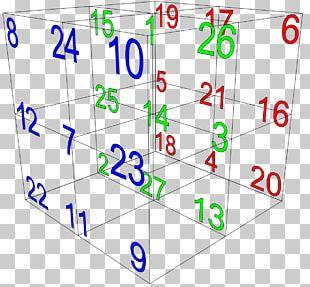 Magic Cube Space Diagonal Magic Square Mathematics PNG