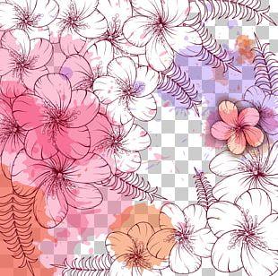 Birthday Flower Vecteur PNG