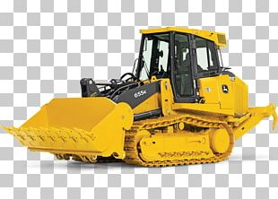 John Deere Tracked Loader Heavy Machinery Agricultural Machinery PNG