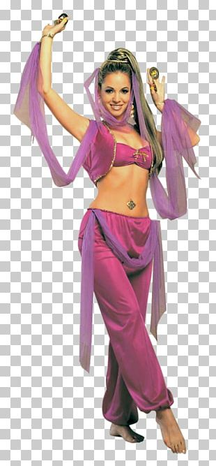 Princess Jasmine Belly Dance Costume Clothing PNG