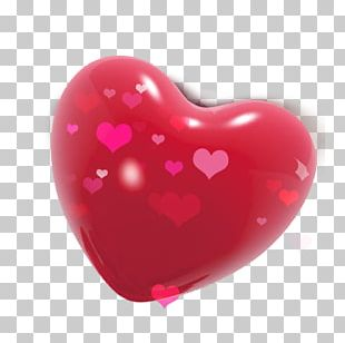 Valentine's Day Heart Red Qixi Festival PNG