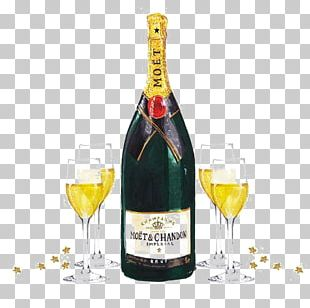 Champagne Prosecco Cocktail Wine Glass PNG