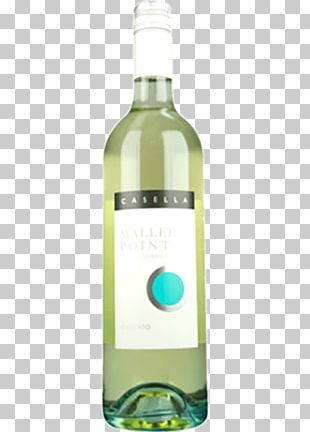 Muscat Liqueur White Wine Bottle PNG