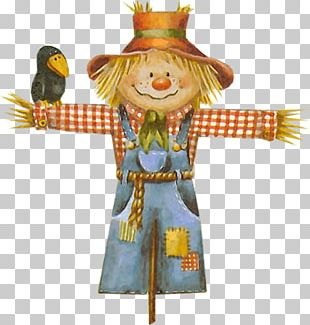 Scarecrow Cartoon Illustration PNG