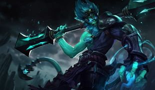 League Of Legends Sun Wukong Underworld Riot Games Shadow Isles PNG