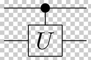 Quantum Logic Gate PGF/Ti<i>k</i>Z Quantum Mechanics Controlled NOT Gate Quantum Circuit PNG