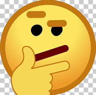 Smiley Club Penguin Emote Emoji Thought PNG