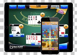 SpinRUSH® Games Zero 8 Studios Casino Card Game PNG