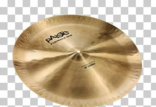 China Cymbal Paiste Meinl Percussion PNG