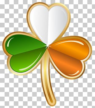 Ireland Shamrock Saint Patricks Day Four-leaf Clover PNG