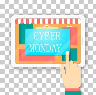 Cyber Monday Online Shopping Discounts And Allowances Coupon Promotion PNG