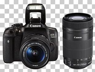 Canon EOS 700D Canon EF Lens Mount Canon EF-S Lens Mount Canon EF-S 18–55mm Lens Digital SLR PNG