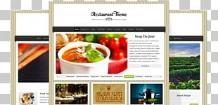 Cafe Food Theme Restaurant WordPress PNG