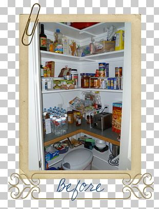 Shelf Bookcase Pantry Refrigerator Home PNG