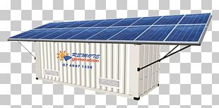 Solar Panels Stand-alone Power System Solar Power Solar Energy Intermodal Container PNG