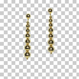 Earring 01504 Body Jewellery Brass PNG