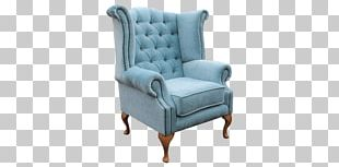 Table Wing Chair Couch Tufting PNG
