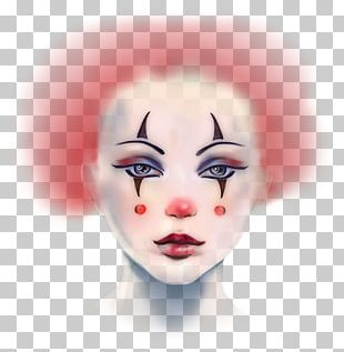 Pierrot A Sad Clown Circus Joker PNG