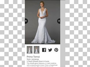 Wedding Dress Gown Lace Sheath Dress PNG