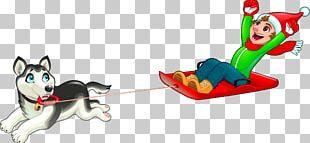 Dog Sled PNG