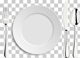 Fork Tableware White Plate PNG