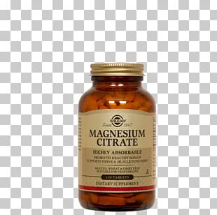 Magnesium Citrate Dietary Supplement Tablet Nutrient PNG