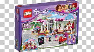 LEGO 41119 Friends Heartlake Cupcake Café LEGO Friends Amazon.com PNG