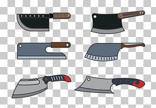 Kitchen Knife Cleaver Butcher Knife PNG