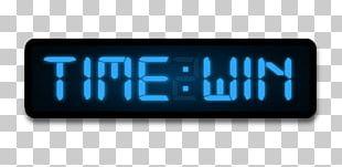 Radio Clock Display Device PNG
