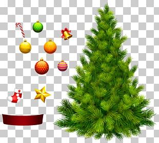 Xmas Tree For Decoration PNG
