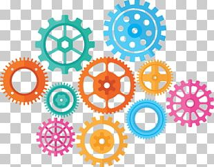 Gear Clock PNG