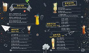 Menu Cafe European Cuisine Drink Restaurant PNG