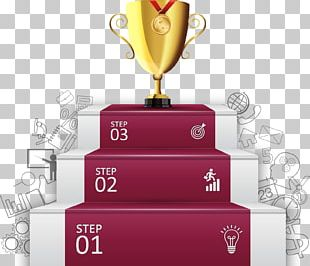 Infographic Trophy Illustration PNG