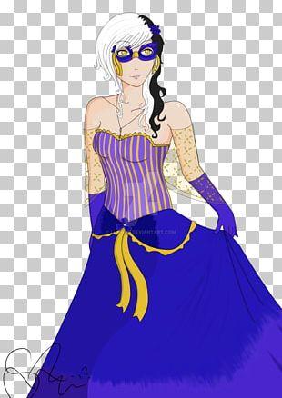 Costume Design Cartoon Dress PNG