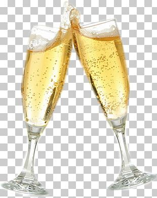 Prosecco Champagne Brandy Wine Cocktail PNG