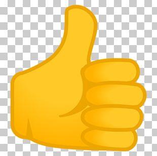 Thumb Signal Emoji Human Skin Color Light Skin PNG