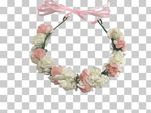 Wreath Pink M Hair Clothing Accessories PNG