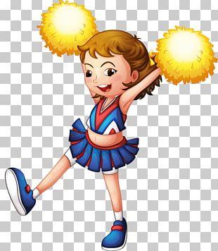 Cheerleading Cheering Illustration PNG